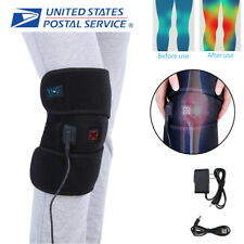 Electric Knee Heated Pad Thermal Heat Therapy Wrap Brace Arthritis Pain Relief