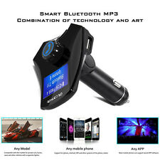 M7S Bluetooth Car Kit MP3 Player FM Transmitter Wireless TF Adapter USB Charger
