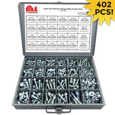 Class 109 Jis Metric Hex Flange Bolt Screw Nut Assortment Kit Grade 402pcs