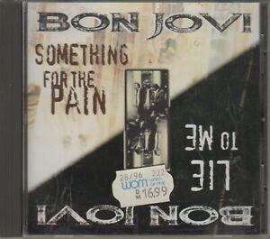 Bon Jovi  CD-SINGLE  SOMETHING FOR THE PAIN  ©  1995   USA