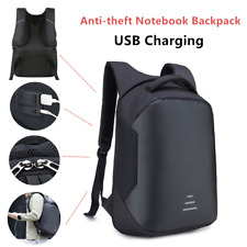 Anti-theft Laptop Notebook Backpack +USB Charging Business School Bag Waterproof