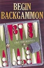 Begin Backgammon by J.Du C.Vere Molyneux (Paperback, 1998)