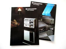 Kenwood Katalog Prospekt 1982 Hifi Stereo Technik Broschüre HI-FI 80er 1983