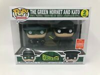 Funko Pop! The Green Hornet and Kato 2 Pack 2018 Summer Convention Limited SDCC