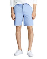 Polo Ralph Lauren Men's Stretch Classic Fit Chino Shorts Light Blue Size 32W