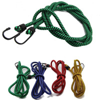 1.8m Bungee Cord Strap Heavy Duty Luggage Elastic Rope Tie Down & hooks  Durable