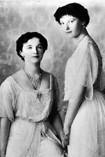 New 5x7 Photo: Princesses Olga & Tatiana Romanov, Children of Czar Nicholas II