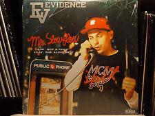 "EVIDENCE - MR. SLOW FLOW / HOT & COLD (12"")  2006!!  RARE!!  ALCHEMIST + DILATED"