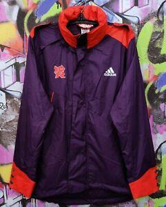 London 2012 Summer Olympic Games Adidas Longsleeve Jacket Top Mens Size L