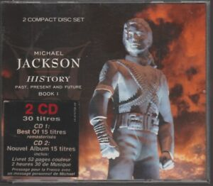 Michael Jackson History Past Present Future Cd 1st Press With Message For French