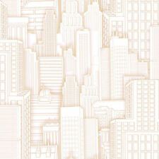 York Ultimate Spiderman City Beige Wallpaper ZB3266 NEW Multiples Available