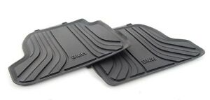 BMW Genuine All Weather Rubber Floor Mats Set Rear F21/F22 51472297420
