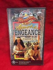 Apache Vengeance VHS Video Tape Gun Smokin Western Classics R18+
