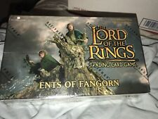 LOTR TCG Ents Of Fangorn Booster Box Factory Sealed | Lord Of The Rings TCG