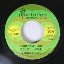 Country 45 Jeannie C. Riley - Light Your Light / Good Enough To Be Your Wife On