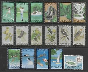 1979 JAMAICA SET MOUNTED MINT, SEE SCANS.