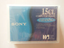 Sony DDS DAT Computer Grade Cleaning Tape/Cartridge DGD15CL 15m NEW