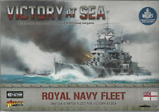 Victory at Sea Royal Navy Starter Fleet Nib New Warlord Games