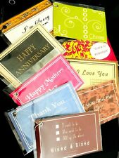 """Gift & Wine Tags - Nudges Novelty """"Expressing Your Thoughts"""" - Lot of 24"""