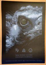 Them Crooked Vultures - 2009 - Berlin - Lars P. Krause - Poster -Qotsa - Foo