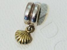 Authentic Lovelinks Gold Sterling Silver Shell Dangle Charm
