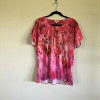 Millers Pink Top Size 18 Womens
