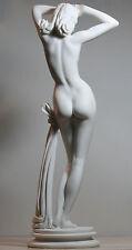 GROSSE Nackte Nackte Weibliche Sexy Erotische Frau HANDGEFERTIG Statue Skulptur