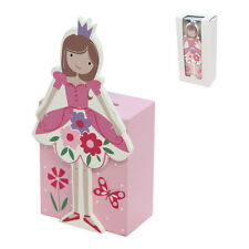 Gisela Graham Ballerina Princess Wood Money Box – Girls Pink Moneybox Money bank
