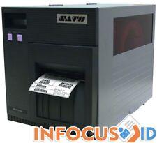 Runderneuert Sato CL412 305 Dpi Thermotransfer Drucker mit Software & Support