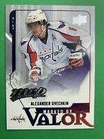 2008-09 Upper Deck MVP Marked By Valor #MV6 Ale Ovechkin Washington Capitals