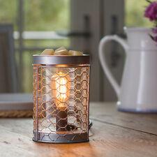 Candle Warmers Etc Chicken Wire Edison Bulb Illumination Wax Melt Warmer