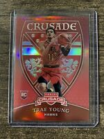 2018-19 Panini Chronicles Crusade Red #545 RC ROOKIE Trae Young /149 PSA Ready!