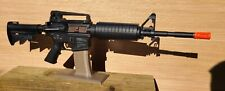 Gun Display Stand-Airsoft or Sporting Rifle-Magazine Style-Flat Dark Earth (FDE)