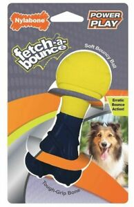 """Nylabone Power Play Fetch-a-Bounce Rubber 5"""" Dog Toy 1 count"""