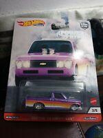 Hot Wheels Custom '72 Chevy LUV Power Trip Car Culture 3 of 5 Case 956T 1:64