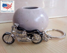 3D Simulation Model Motorcycle Keychain Key Chain Ring Keyring - Choose Color