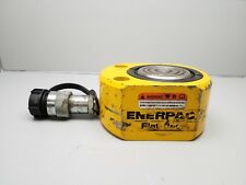 """ENERPAC RSM-500 HYDRAULIC CYLINDER 50-TON CAP  .63"""" STROKE LOW HEIGHT 10000 PSI"""