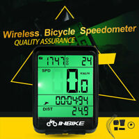 Bike Bicycles Waterproof Wireless Road Speedometer LCD Computer Odometer HOT