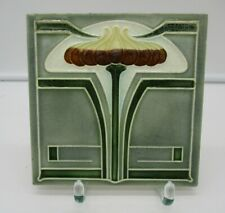 alte Fliese / Jugendstil / Art Nouveau/ tile / tuile / Design /Wandfliese/Kachel