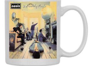 Oasis Definitely Maybe Liam Noel Gallagher Mug New Boxed Dishwasher Proof