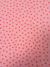 Cath Kidston Fabric Material 100 X 50cms Pink Spot Sewing Craft Quilting