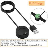 USB Charger Dock Ladekabel Ladegerät Kable Für Garmin Fenix 5 Fenix 6 / Fenix 6X
