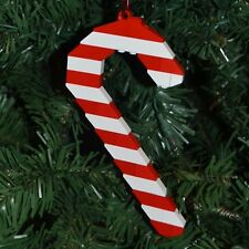 New Genuine LEGO Christmas Ornament Red and White Candy Cane with instructions