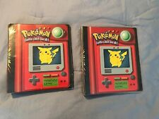 Perfect condition Pokemon trading cards ( pokedex binders included)