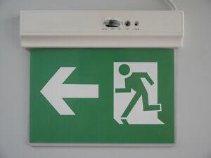 LED Notbeleuchtung Fluchtwegleuchte Notleuchte Notausgang Pfeil links rechts
