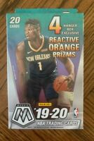 2019-20 Mosaic Basketball Hanger Box Orange Prizm Factory Sealed Zion Ja?