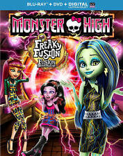 Monster High: Freaky Fusion (Blu-ray/DVD, 2014, 2-Disc Set)