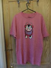 Uniqlo   Haibara   Japan   Pink   T-Shirt   Large