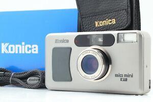[Mint in Box] Konica Big mini F 35mm Point & Shoot 35mm Film Camera JAPAN