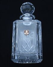 Duke of Wellington Army Regiment Crystal Cut Glass Decanter Whiskey Spirit BGK41